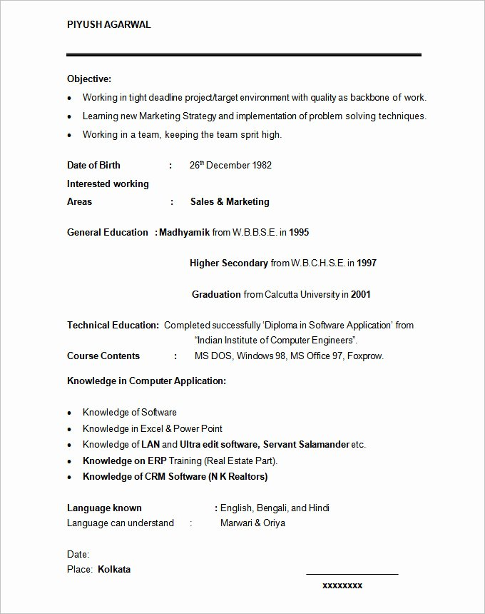 Graduate Student Resume Template Inspirational 36 Student Resume Templates Pdf Doc