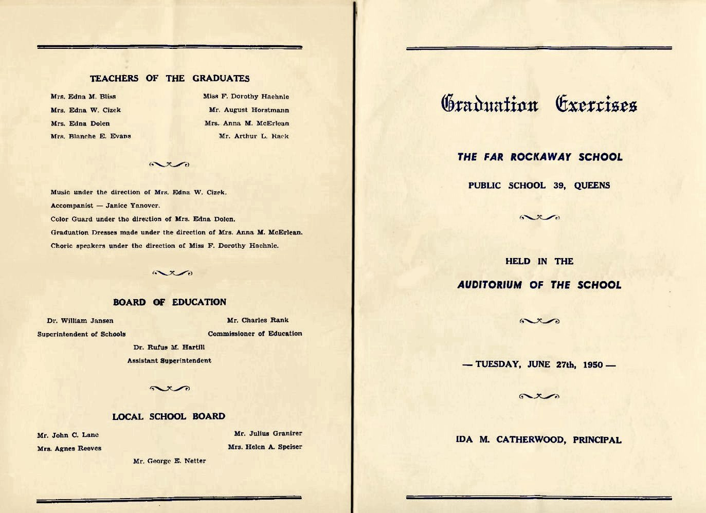 Graduation Ceremony Program Template Beautiful Program Samples for Graduation
