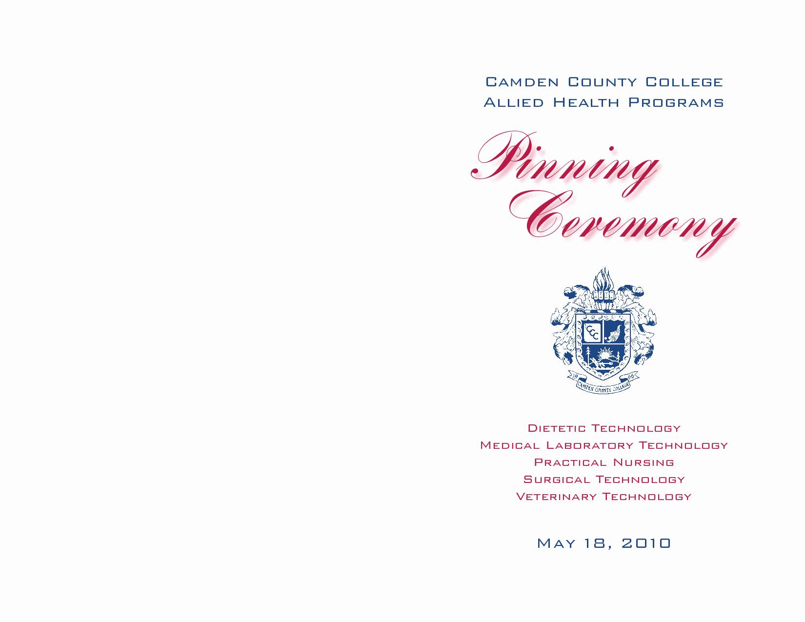 Graduation Ceremony Program Template Luxury Nursing Graduation Program Template Google Search