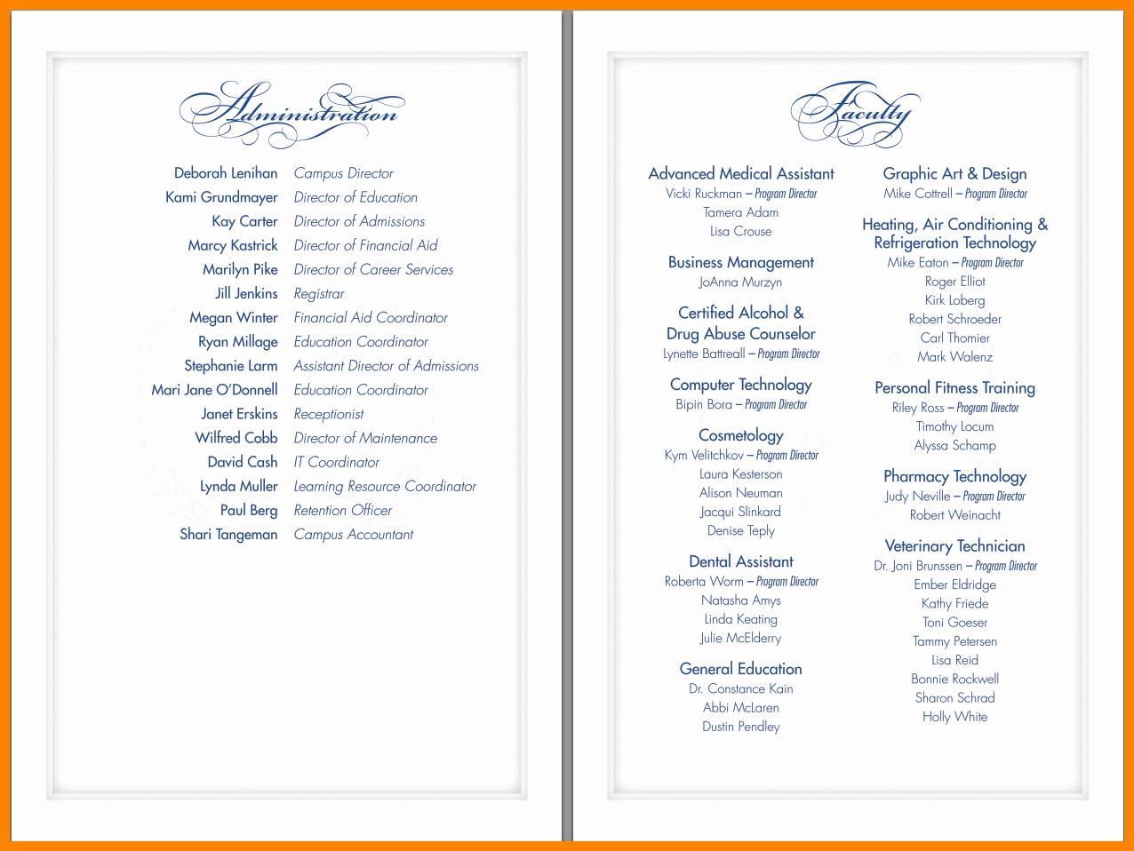 Graduation Ceremony Program Template New Index Of Cdn 9 2003 738