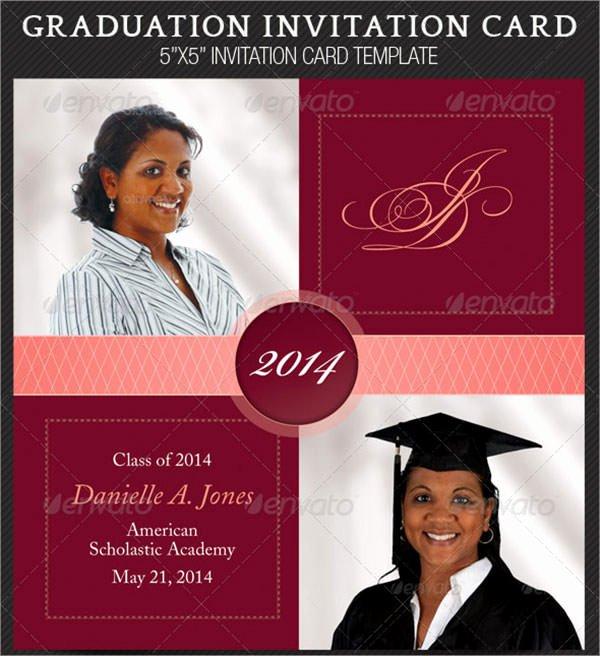 Graduation Invitation Template Word Beautiful 7 Graduation Invitation Templates