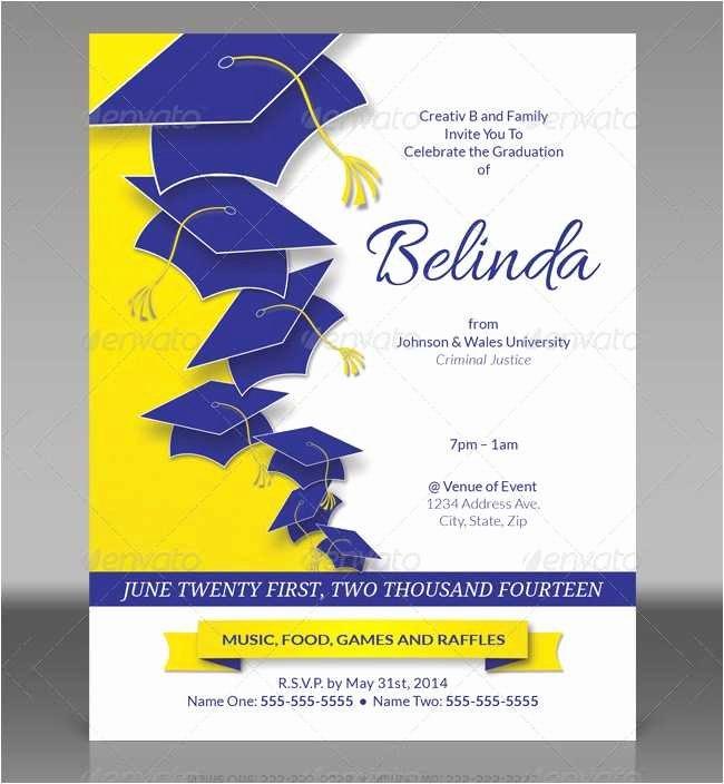 Graduation Invitation Template Word Best Of 18 New College Graduation Invitation Templates