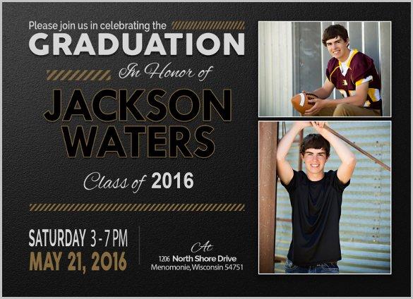 Graduation Invitation Template Word Fresh 25 Graduation Invitation Templates Psd Vector Eps Ai