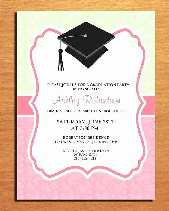 Graduation Invitation Template Word Lovely Golf Free Graduation Invitation Blank Templates for Flyers