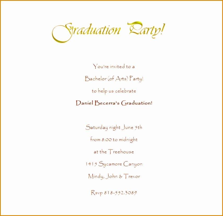 Graduation Invitation Template Word Luxury 9 Graduation Invitation Templates Word Besttemplates