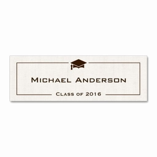 Graduation Name Card Template Best Of 21 Best Images About Graduation Name Cards On Pinterest