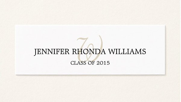 Graduation Name Card Template Best Of 7 Graduation Name Cards Free Psd Vector Eps Png