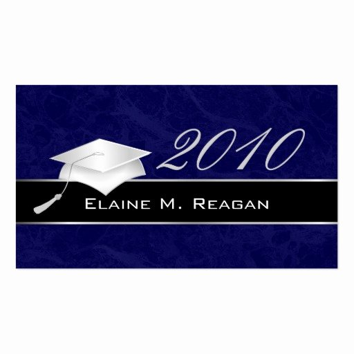 Graduation Name Card Template Best Of Graduation Name Cards Business Card Templates Page2