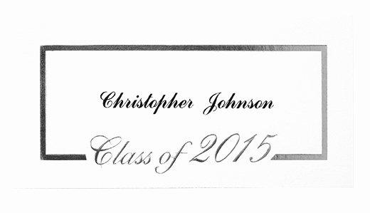 Graduation Name Card Template Elegant Name Cards for Graduation Invitations Yourweek C43a11eca25e