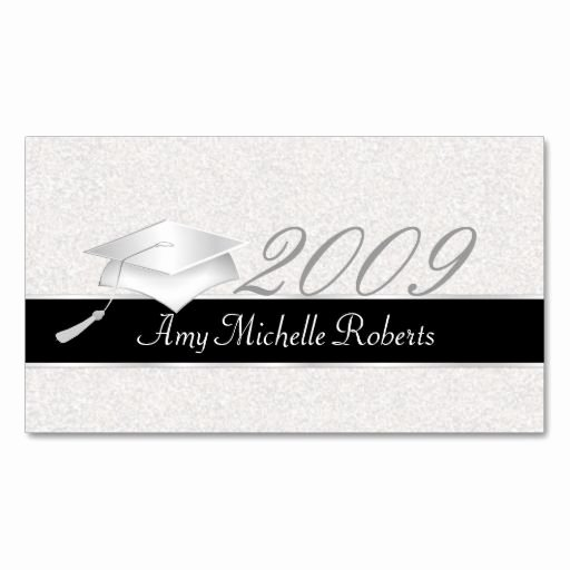 Graduation Name Card Template Fresh 21 Best Graduation Name Cards Images On Pinterest