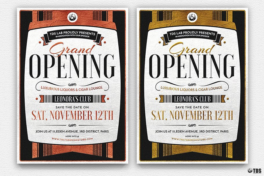 Grand Opening Flyer Template Best Of Grand Opening Flyer Psd Flyer Templates