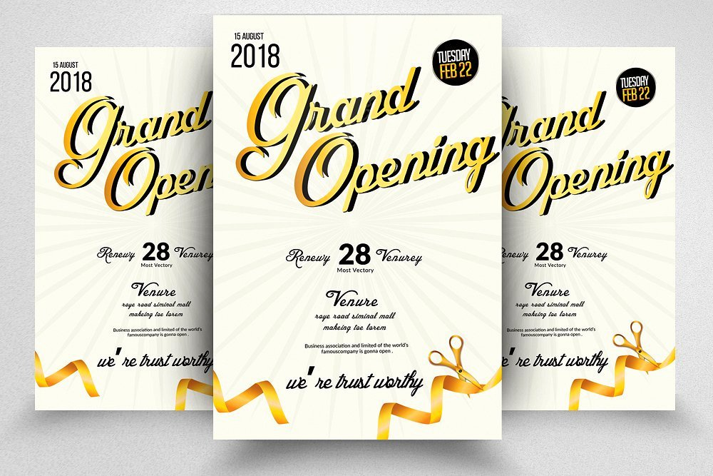 Grand Opening Flyer Template Elegant Grand Opening Flyer Template Flyer Templates Creative