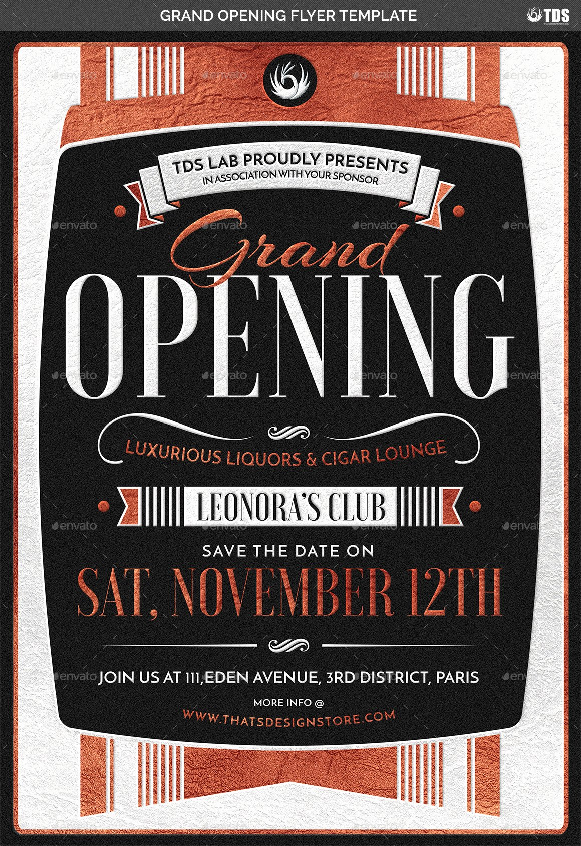 Grand Opening Flyer Template Inspirational Grand Opening Flyer Template by Lou606