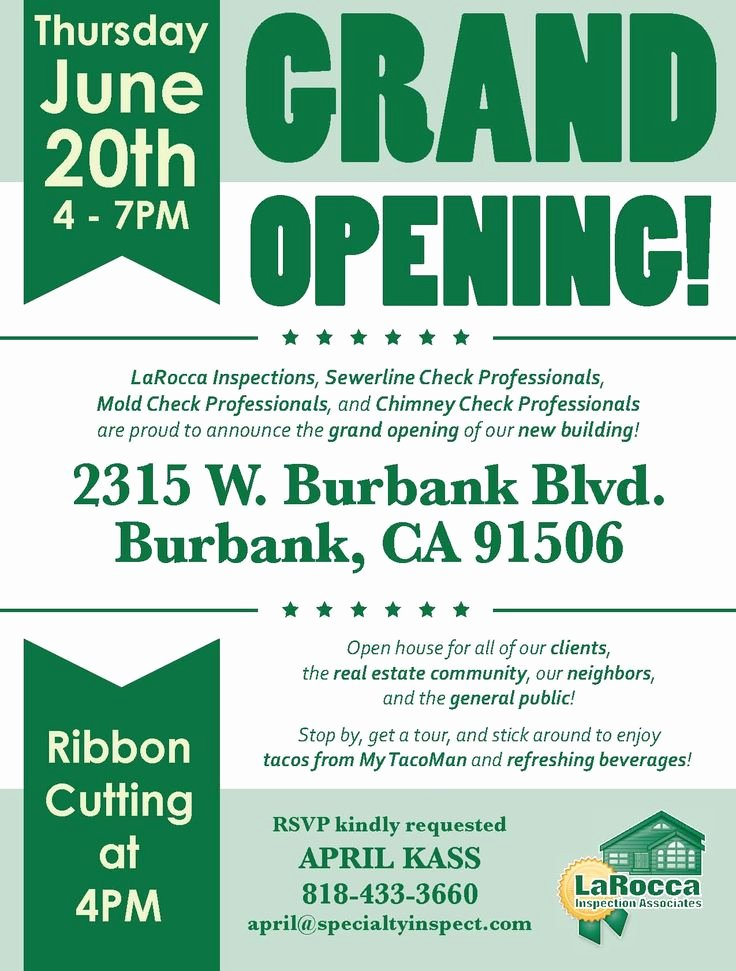 Grand Opening Flyer Template Lovely Grand Opening Google Search Flyer Design