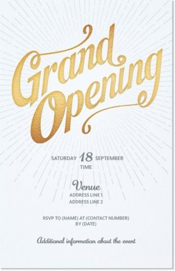 Grand Opening Invitation Template Best Of 11 Best Grand Opening Invitation Images On Pinterest
