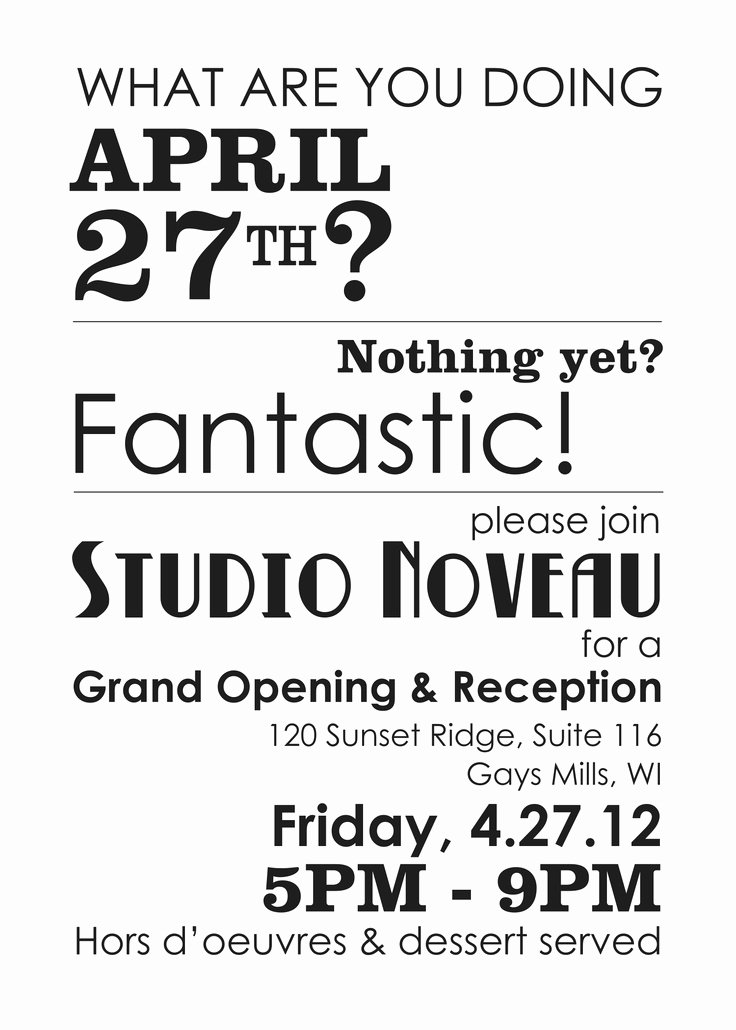 Grand Opening Invitation Template Fresh Best 25 Grand Opening Ideas On Pinterest