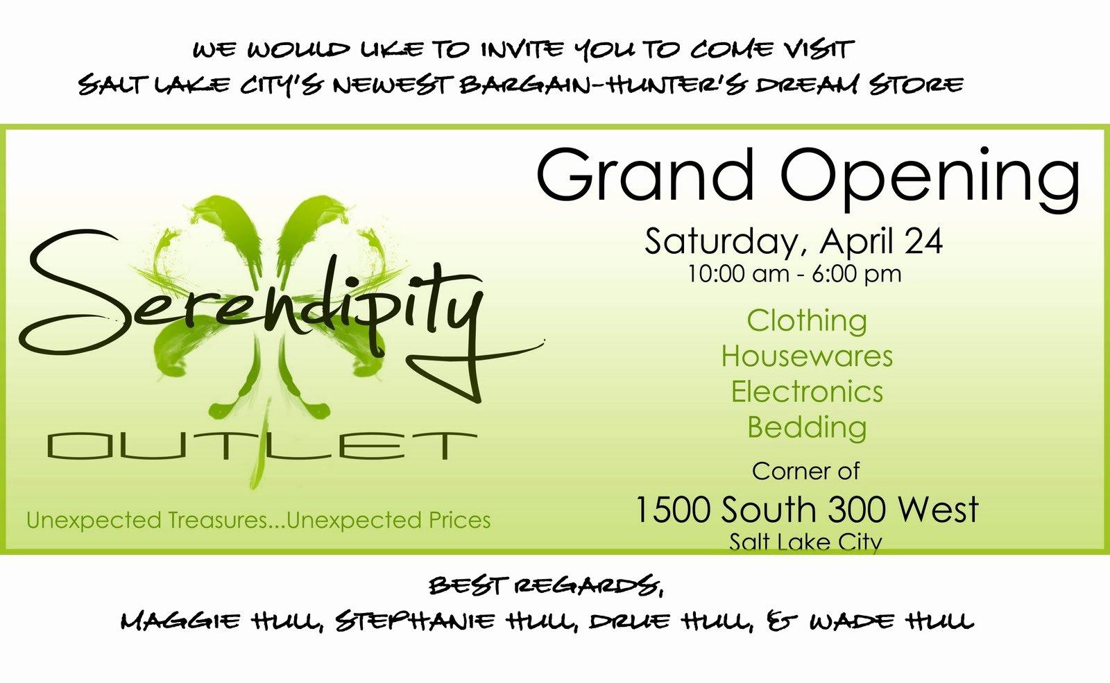 Grand Opening Invitation Template Fresh Inaugural Invitation Template