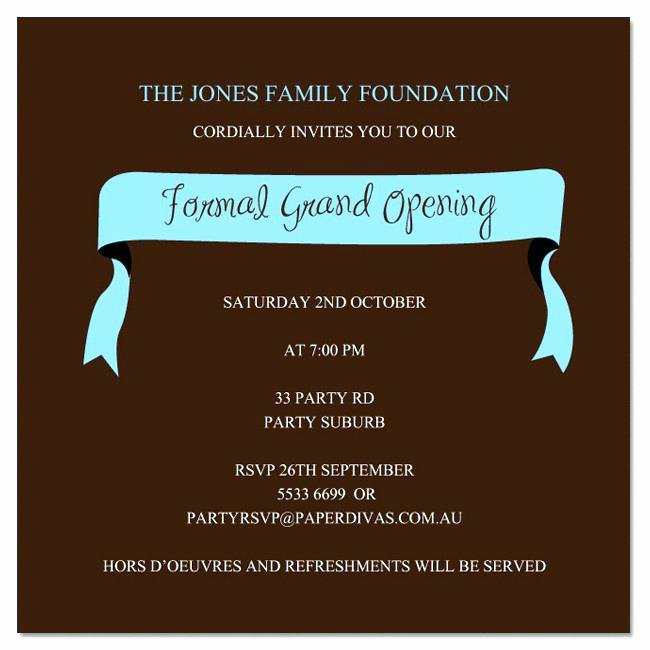 Grand Opening Invitation Template Inspirational Grand Opening Invitation Template Free Restaurant Opening
