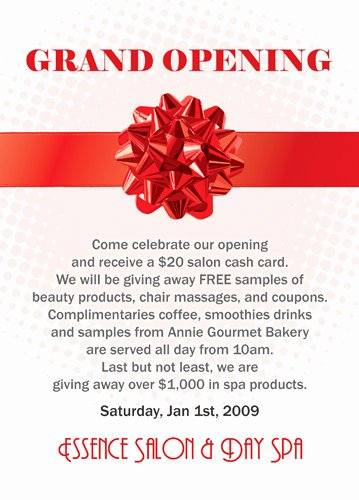 Grand Opening Invitation Template Luxury 6 Best Of Flyer Design Ideas Wel E to the