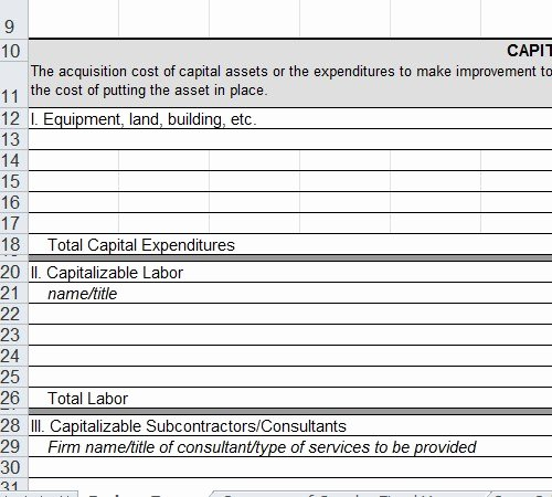 Grant Budget Template Excel Best Of Grant Proposal Bud Template Excel Grant Proposal
