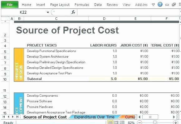 Grant Budget Template Excel Fresh Sample Project Bud Grant Proposal – Ooojo