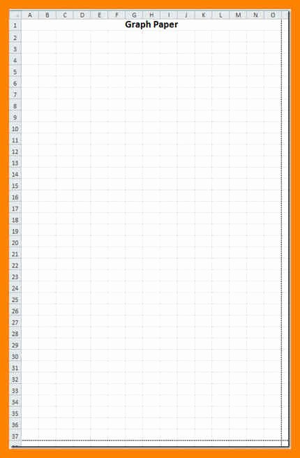 Graph Paper Template Excel Awesome 10 Graph Paper Template Excel
