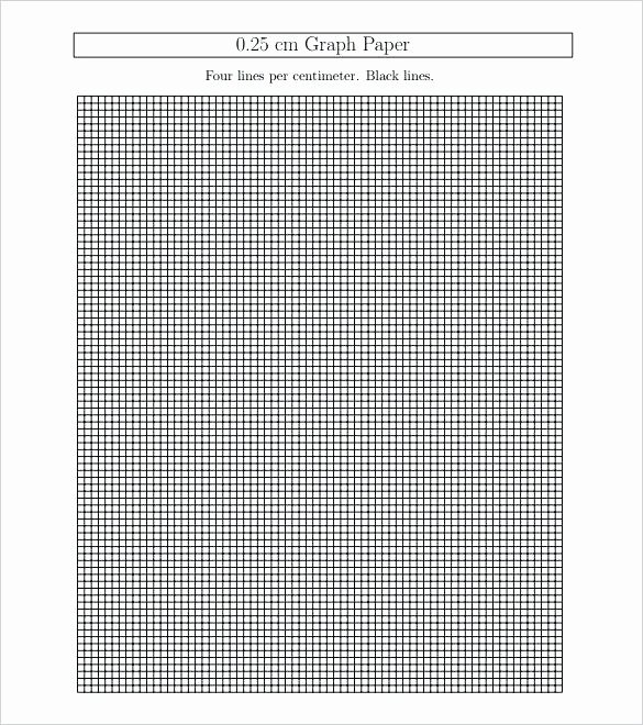 Graph Paper Template Excel Beautiful E Inch Grid Paper Printable Grid Paperprintable Graph