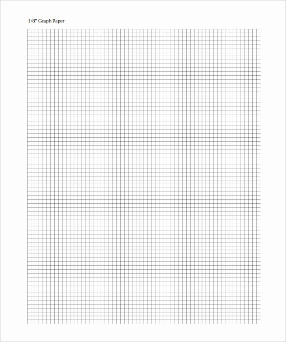 Graph Paper Template Word New Graph Paper Template – 10 Free Pdf Documents