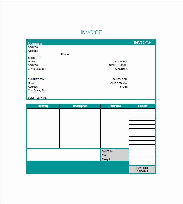 Graphic Design Invoice Template Elegant 7 Graphic Design Invoice Templates Doc Pdf