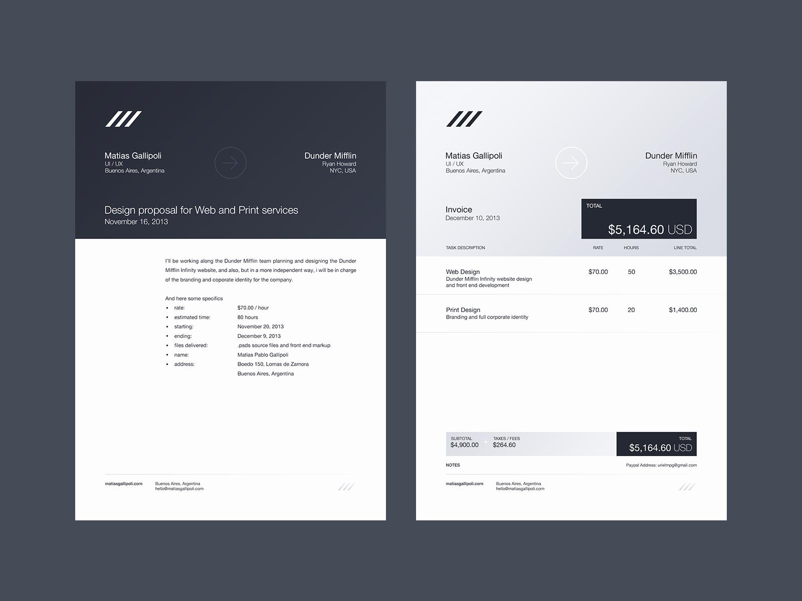 Graphic Design Invoice Template New Best 25 Invoice Design Ideas On Pinterest