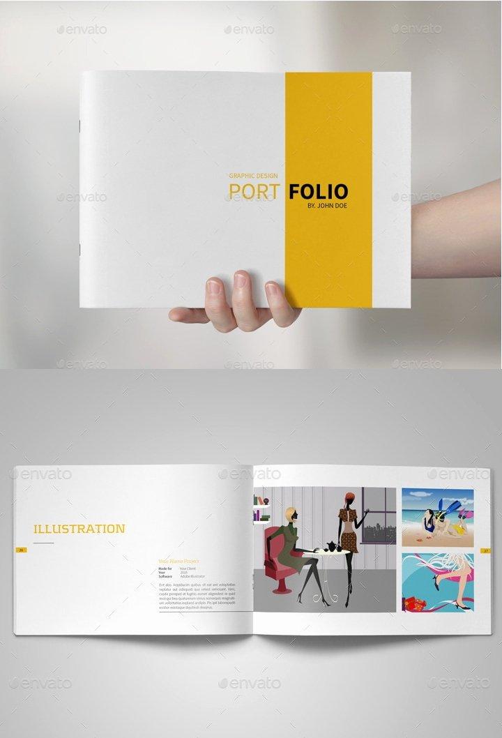 Graphic Design Portfolio Template Awesome Portfolio Design to Inspire 24 Design Templates to