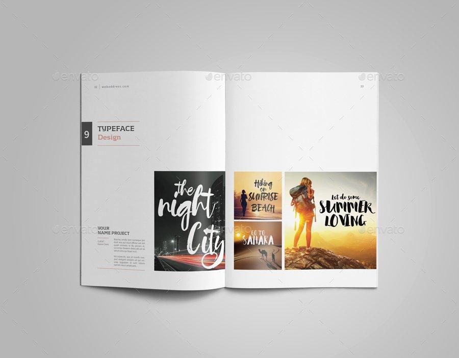 Graphic Design Portfolio Template Beautiful Graphic Design Portfolio Template by Adekfotografia