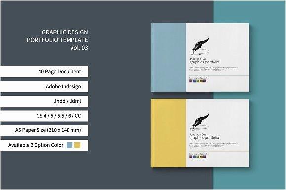 Graphic Design Portfolio Template Beautiful Graphic Design Portfolio Template by Tujuhbenua On