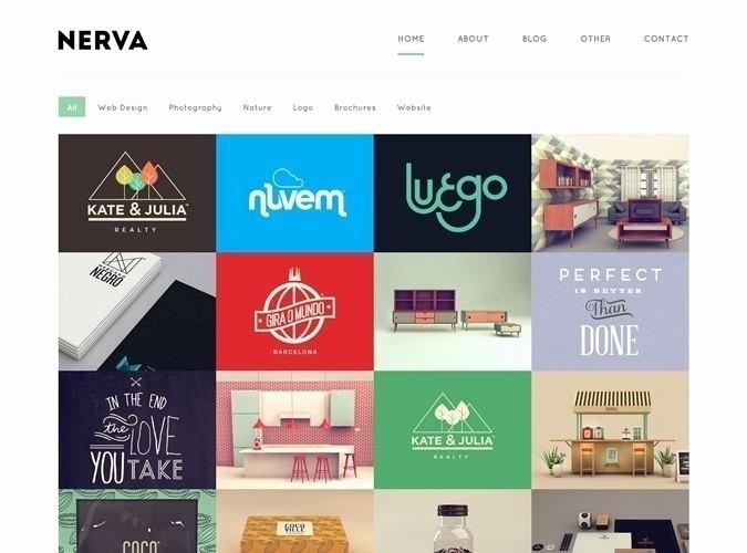 Graphic Design Portfolio Template Best Of Graphic Designer Portfolio Website Templates
