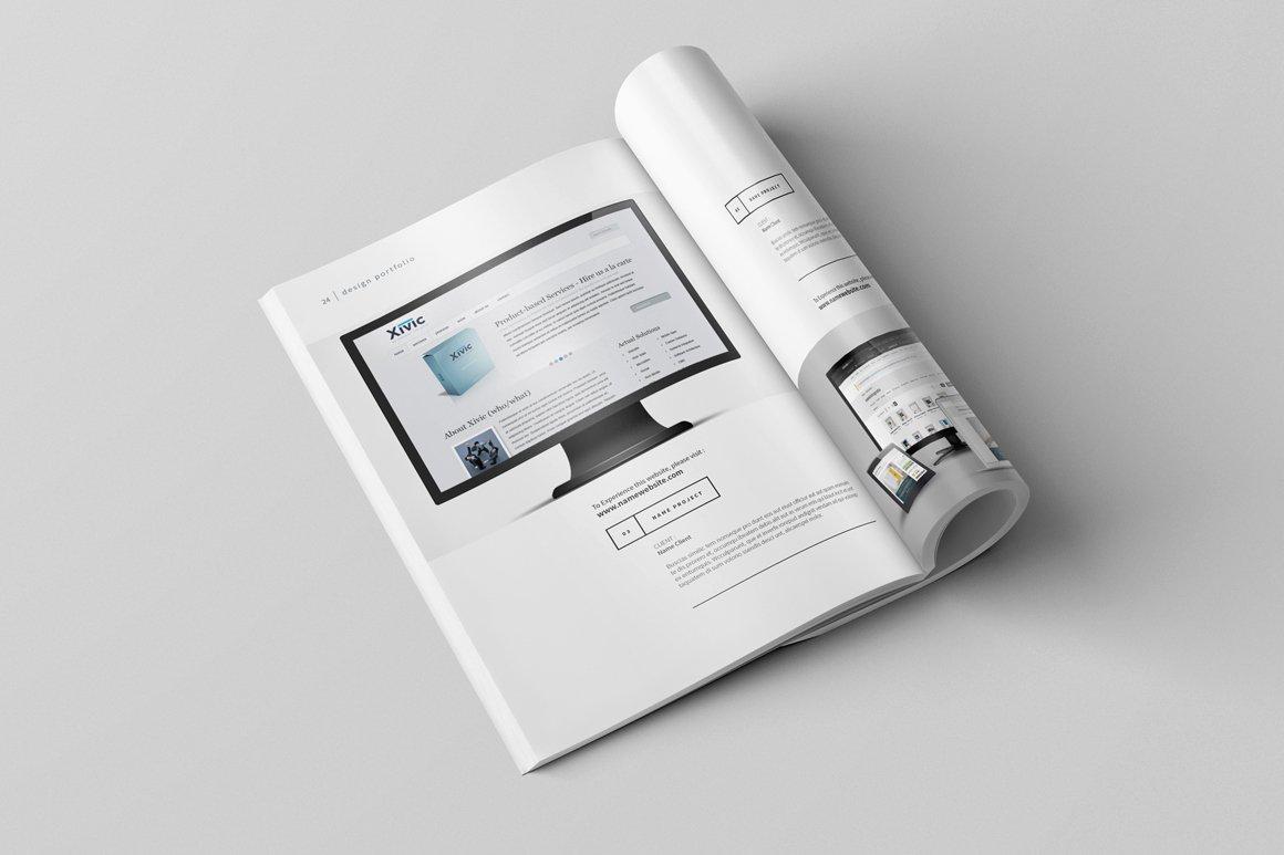 Graphic Design Portfolio Template Elegant Graphic Design Portfolio Template