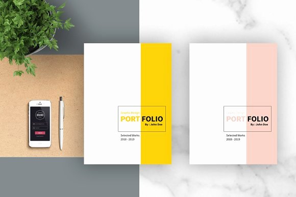 Graphic Design Portfolio Template Fresh Graphic Design Portfolio Template Brochure Templates On