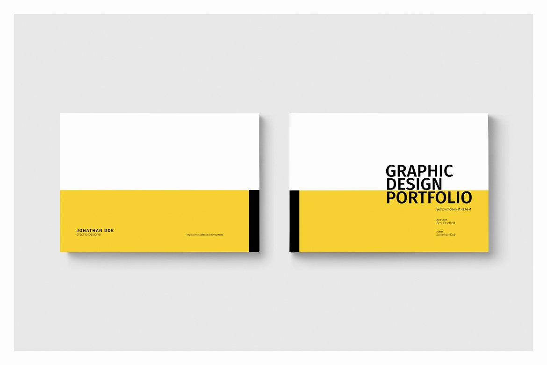 Graphic Design Portfolio Template Fresh Graphic Design Portfolio Template