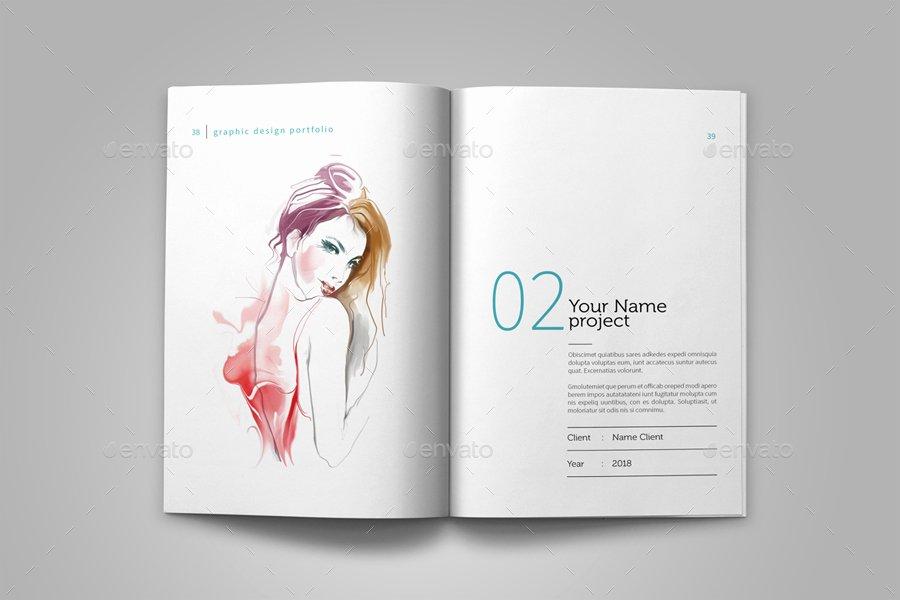 Graphic Design Portfolio Template Inspirational Graphic Design Portfolio Template by Adekfotografia