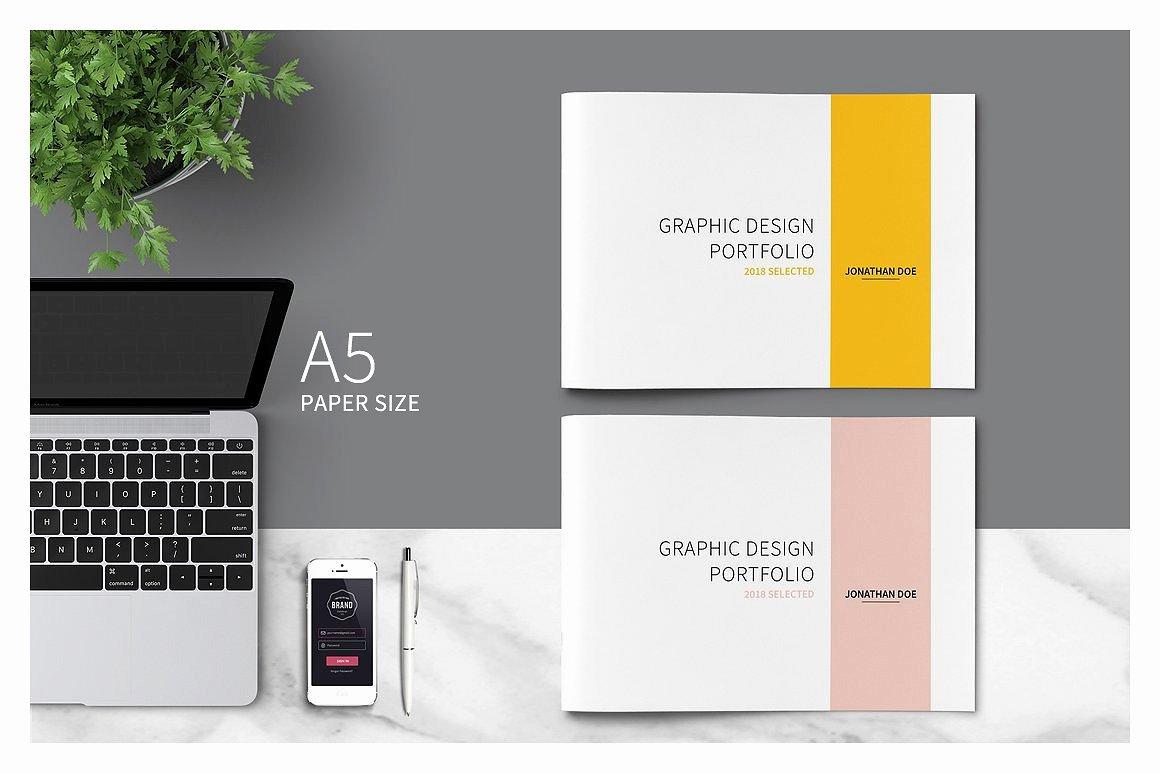 Graphic Design Portfolio Template Lovely Graphic Design Portfolio Template Brochure Templates