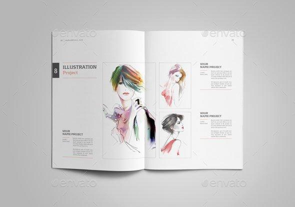 Graphic Design Portfolio Template Luxury 25 Really Awesome Portfolio Brochure Templates