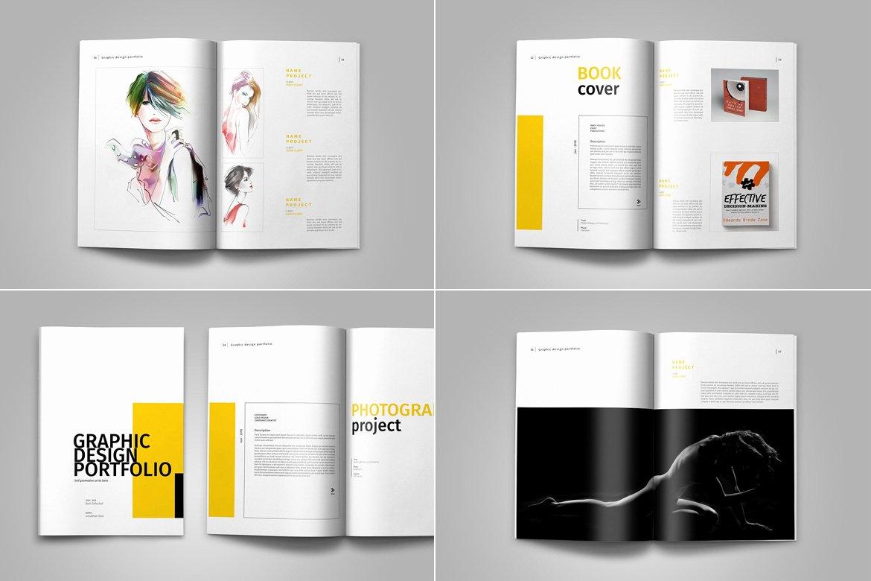 Graphic Design Portfolio Template Unique Graphic Design Portfolio Template