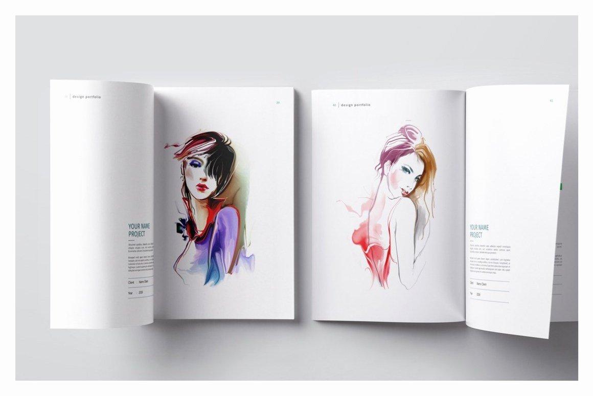 Graphic Design Portfolio Template Unique Graphic Design Portfolio Template Vsual