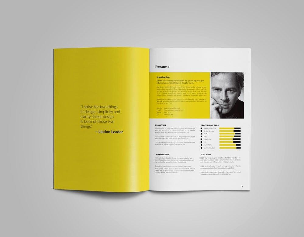 Graphic Design Portfolio Template Unique Graphic Designer Portfolio Template идеи