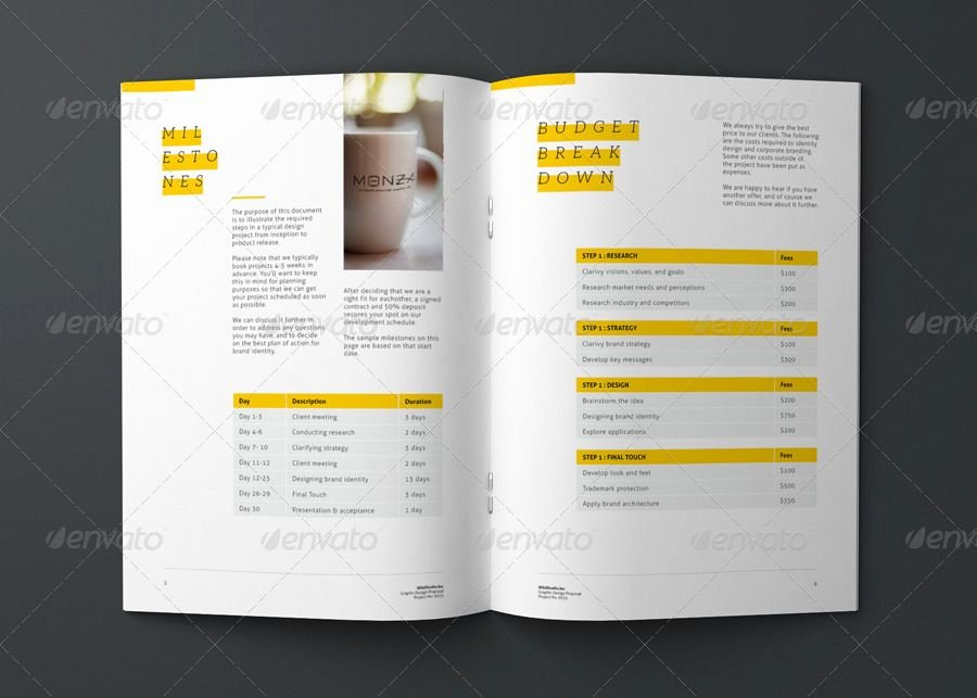 Graphic Design Proposal Template Fresh Graphic Design Project Proposal Template by Codeid