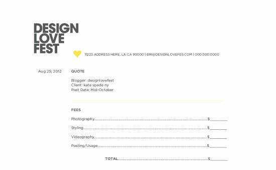 Graphic Design Quote Template Fresh Graphic Design Price Quote Template Templates Station