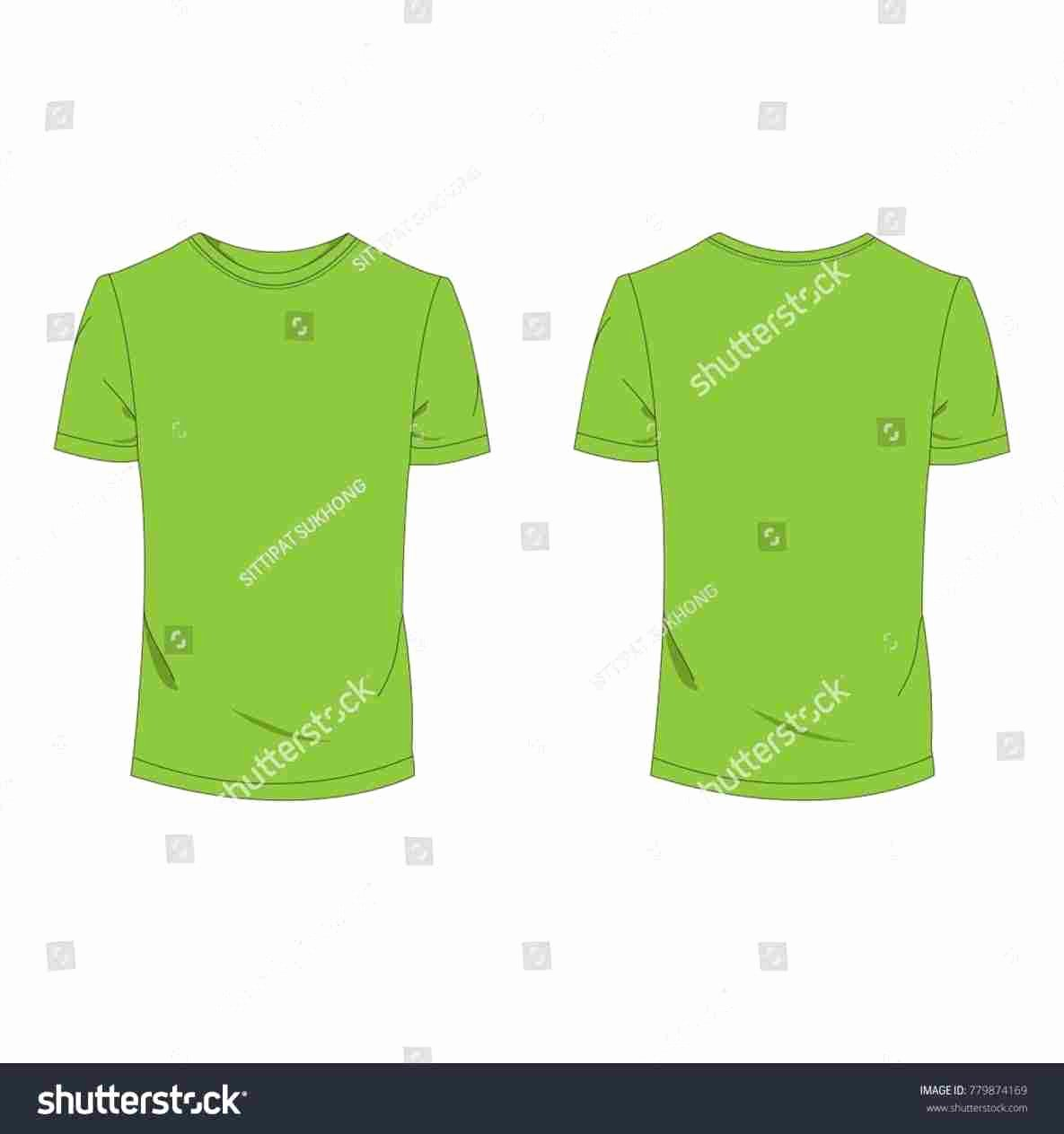 Green T Shirt Template Unique Green T Shirt Template Homedesignlatestte