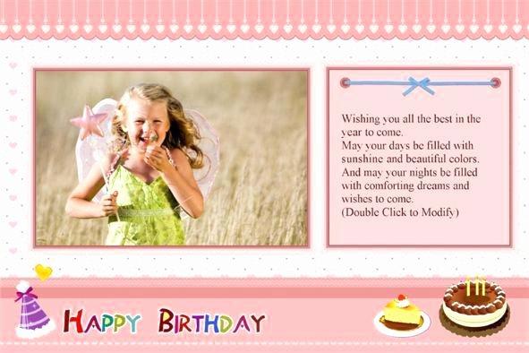 Greeting Card Template Photoshop Elegant Photoshop Birthday Card Template Free – Flybymedia