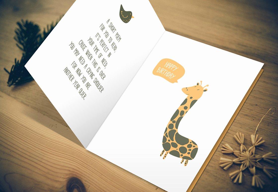 Greeting Card Template Photoshop Luxury 14 Birthday Card Templates Psd First Birthday