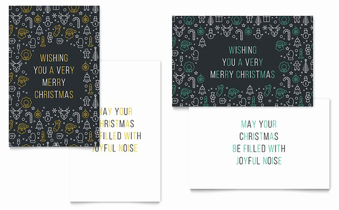 Greeting Card Template Word Awesome Christmas Wishes Greeting Card Template Word & Publisher