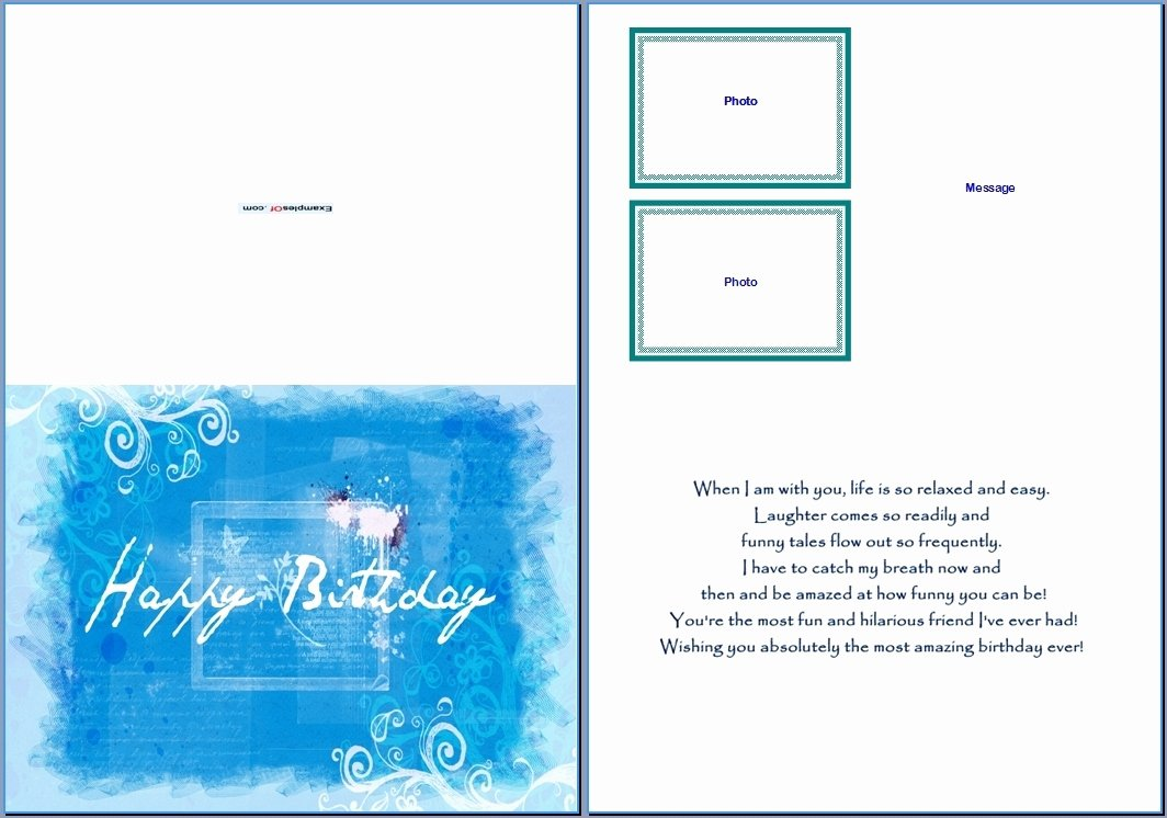Greeting Card Template Word Awesome Greeting Card Template Word Beepmunk